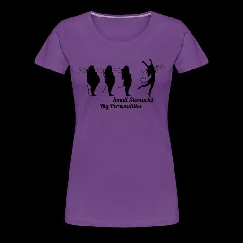 Small Stomachs big personalities - Women's Premium T-Shirt