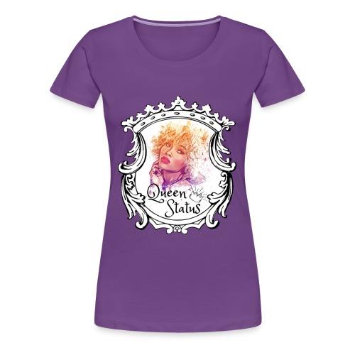 Queen Status - Women's Premium T-Shirt