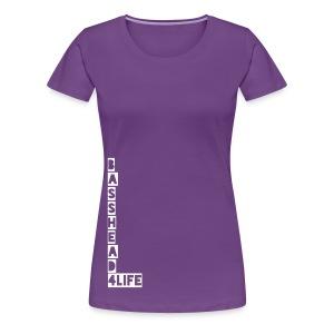 Basshead 4life - Women's Premium T-Shirt