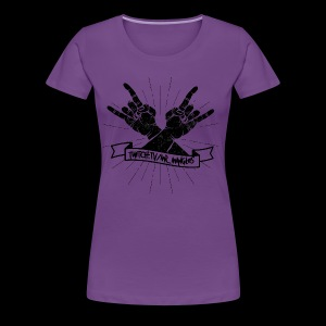 Rock Fists -black - Women's Premium T-Shirt