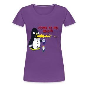 Guin - The P.O.'d Penguin - Women's Premium T-Shirt