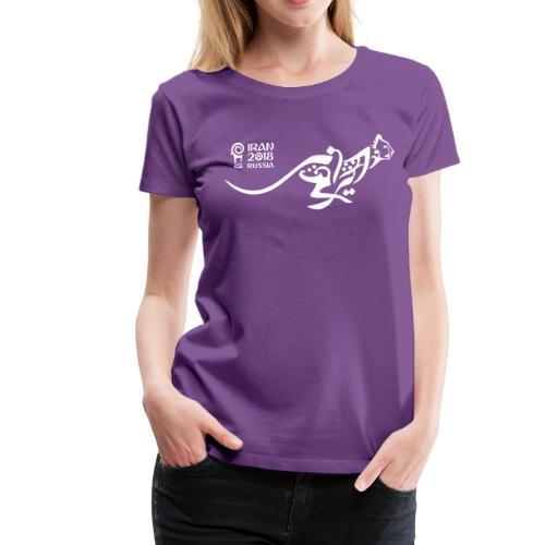 Running Cheetah - Women's Premium T-Shirt