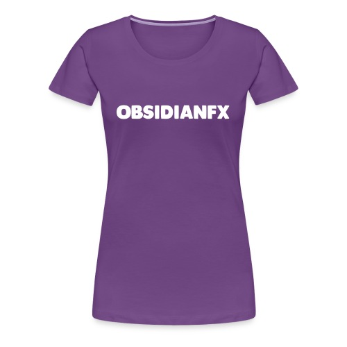 ObsidianFX Merch - Women's Premium T-Shirt