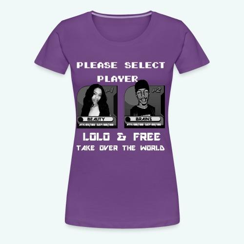 PLAYER SELECT TEE - Women's Premium T-Shirt