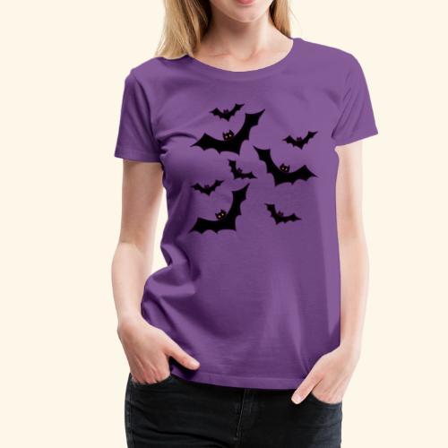 Halloween bats - Women's Premium T-Shirt