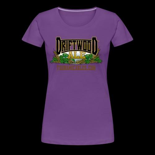 Driftwood Ale - Women's Premium T-Shirt