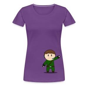 Waddles Chibi Version 1 - Women's Premium T-Shirt