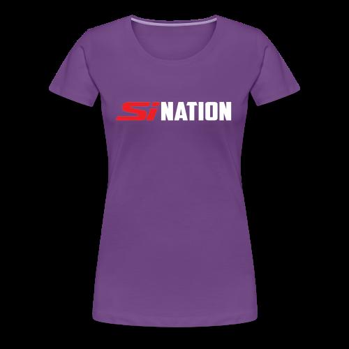 SiNation White - Women's Premium T-Shirt