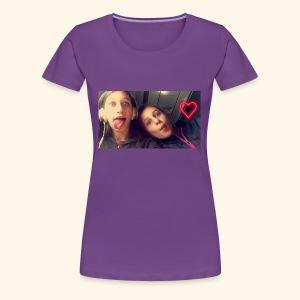 Madison and Dylan Selfie - Women's Premium T-Shirt