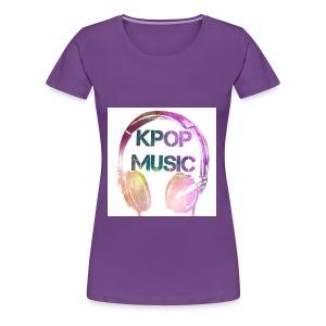 KPOP MUSIC - Women's Premium T-Shirt