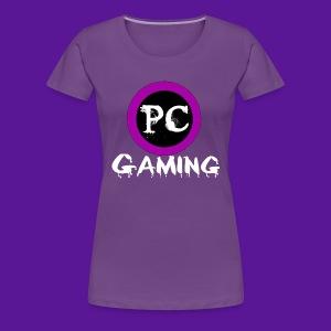 PC gaming purple codex logo - Women's Premium T-Shirt