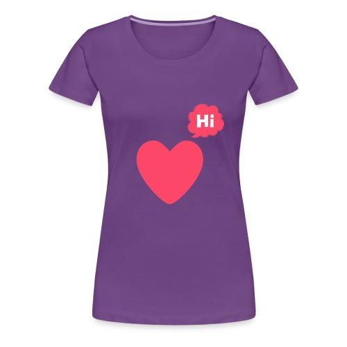 Hi People - Women's Premium T-Shirt