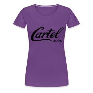 Cartel Blue - Women's Premium T-Shirt