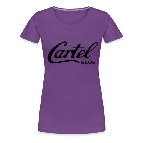 Cartel Blue - Women's Premium T-Shirt