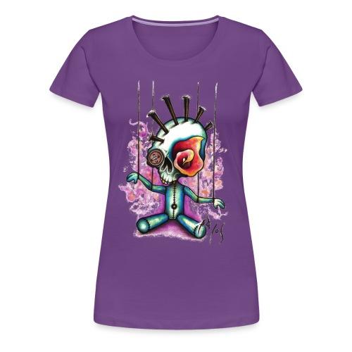 Punkpuppet Skull - Women's Premium T-Shirt
