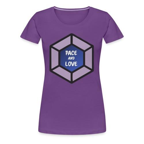 Pace and love - Women's Premium T-Shirt