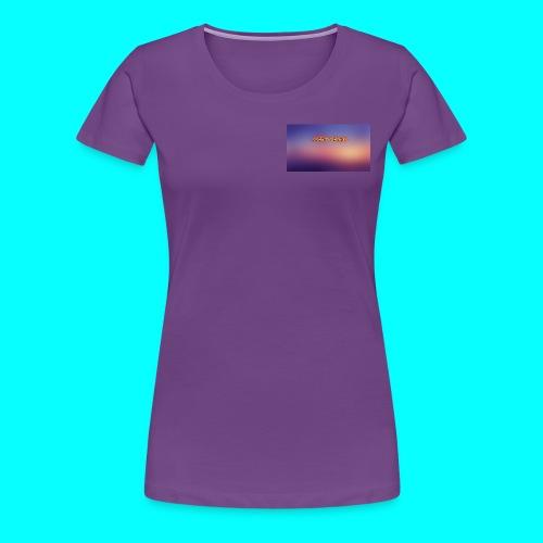 Justin Veach Purple - Women's Premium T-Shirt