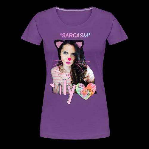 EJ Cat - Women's Premium T-Shirt