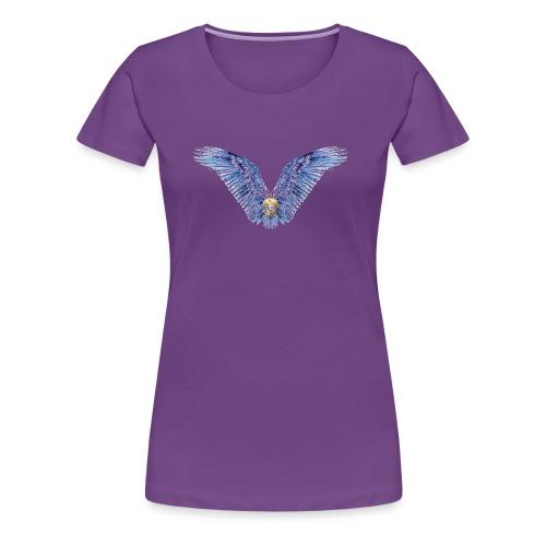 Wings Skull - Women's Premium T-Shirt