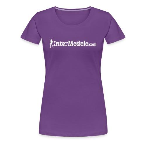 Intermodelo White - Women's Premium T-Shirt