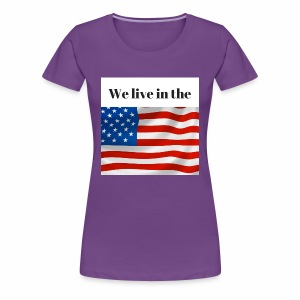 U.S.A. - Women's Premium T-Shirt