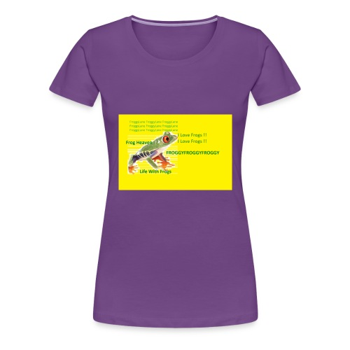 yellowshirt - Women's Premium T-Shirt