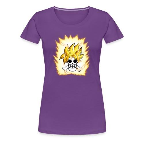 DBZ OnePiece - Women's Premium T-Shirt