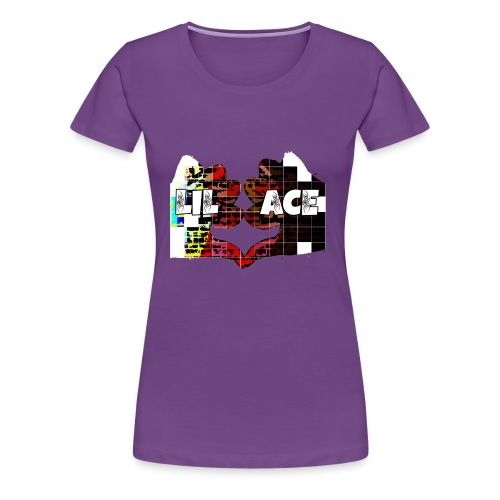 Lil Ace Hater Thumbs - Women's Premium T-Shirt