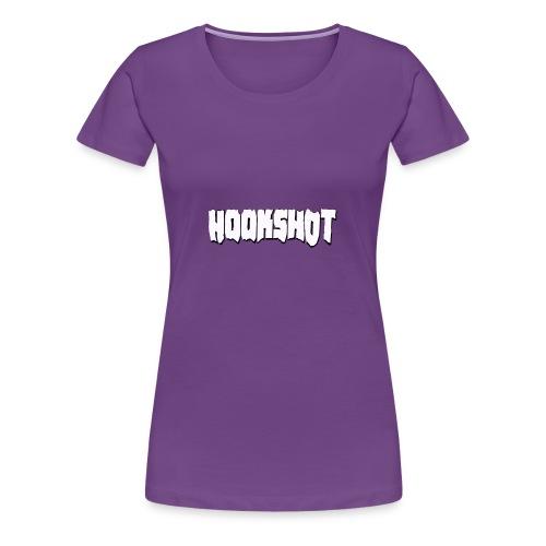 HookShotLogoWhite - Women's Premium T-Shirt