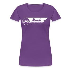 Barlow Adventures Moab Logo - Women's Premium T-Shirt