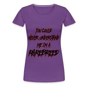 RAREBREED DESIGN - Women's Premium T-Shirt