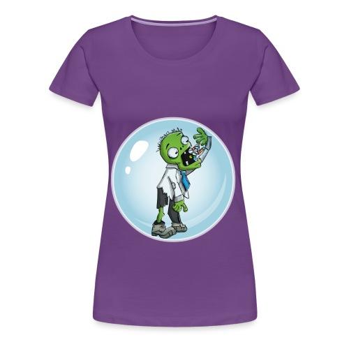 Zombie in a bubble - Women's Premium T-Shirt