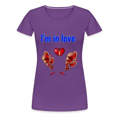 I'm in love - Women's Premium T-Shirt