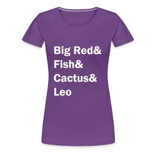 Phish inspired shirt with band member nicknames - Women's Premium T-Shirt