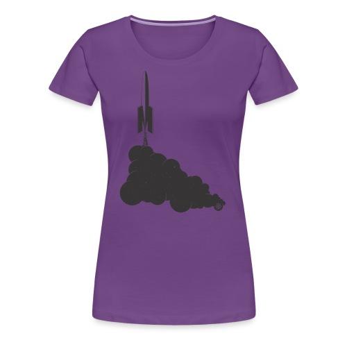 Space Ship Atomic - Women's Premium T-Shirt