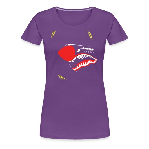 P40NOSE_1805_US - Women's Premium T-Shirt