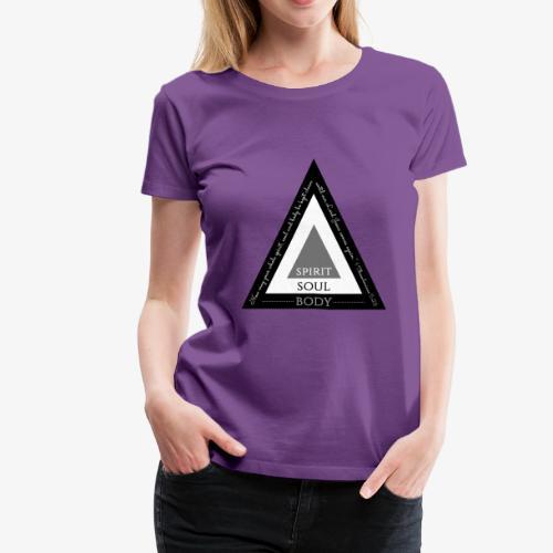 Spirit Soul Body - Women's Premium T-Shirt