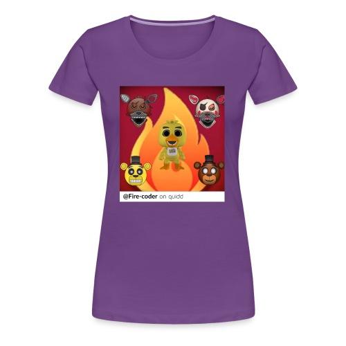 Firecoder Plays - Women's Premium T-Shirt