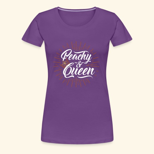 Sweet as Peaches & Cream, Diva! - Women's Premium T-Shirt