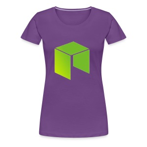 Neo Cryptocurrency logo - Women's Premium T-Shirt