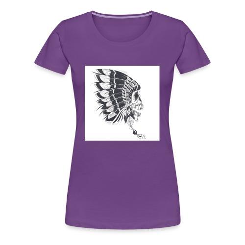 skull mascot - Women's Premium T-Shirt