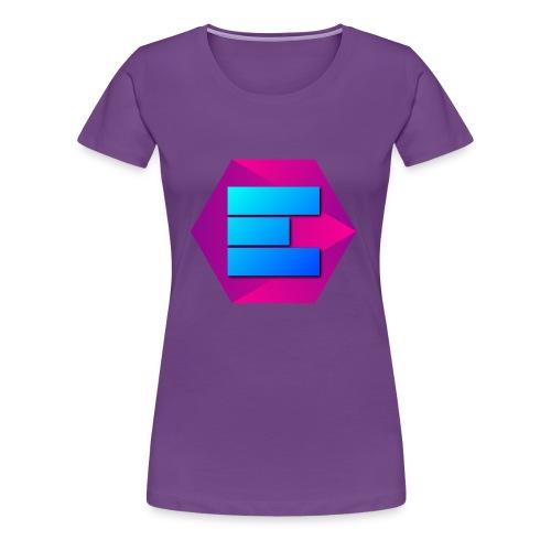 Empril Records Emblem - Women's Premium T-Shirt