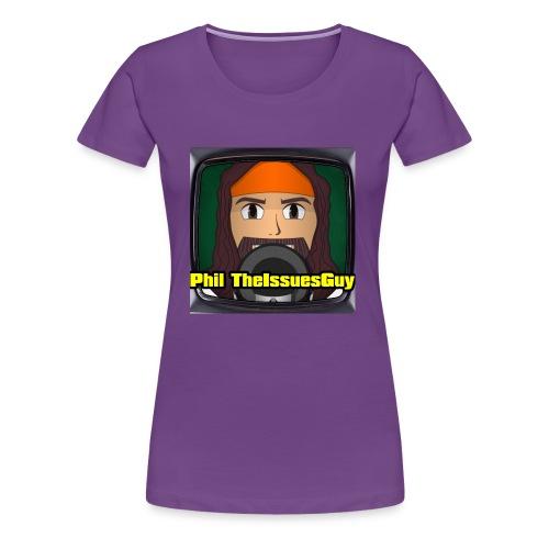 Phil TheIssuesGuy Shirt - Women's Premium T-Shirt