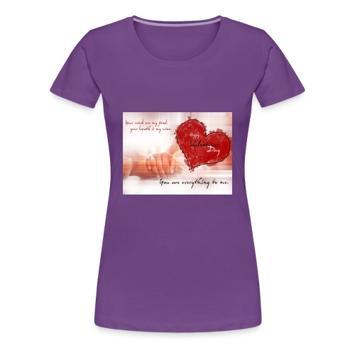 valentines - Women's Premium T-Shirt
