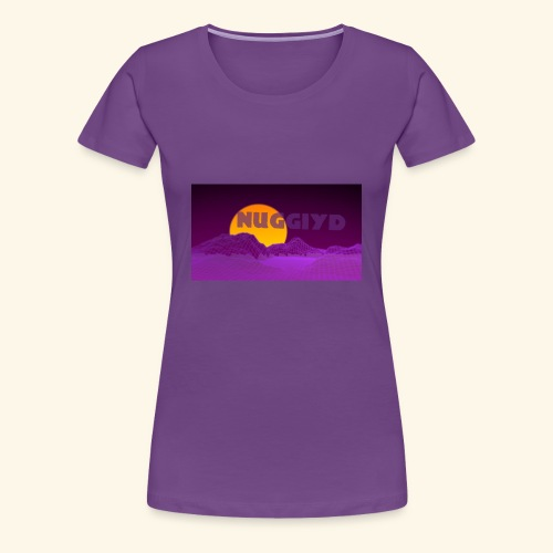 purple boy shirt - Women's Premium T-Shirt