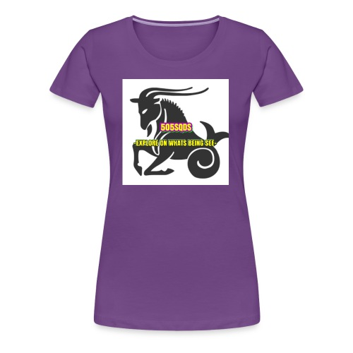 PURE CAMO CAPRICORN *505SQDS - Women's Premium T-Shirt