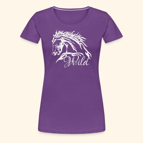 Wild As The Wind 3 - Siota - Women's Premium T-Shirt