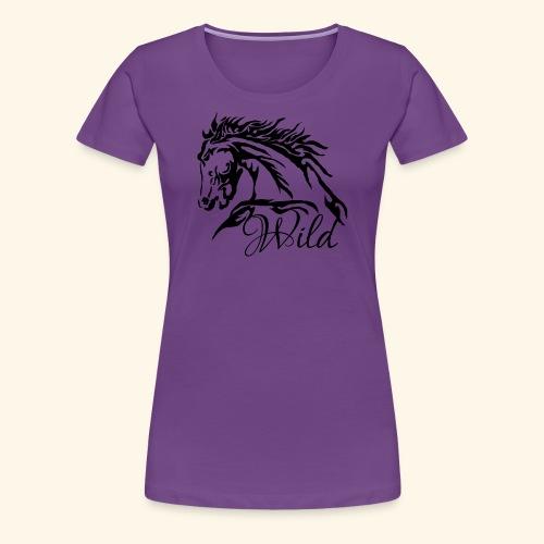 Wild As The Wind 2 - Siota - Women's Premium T-Shirt