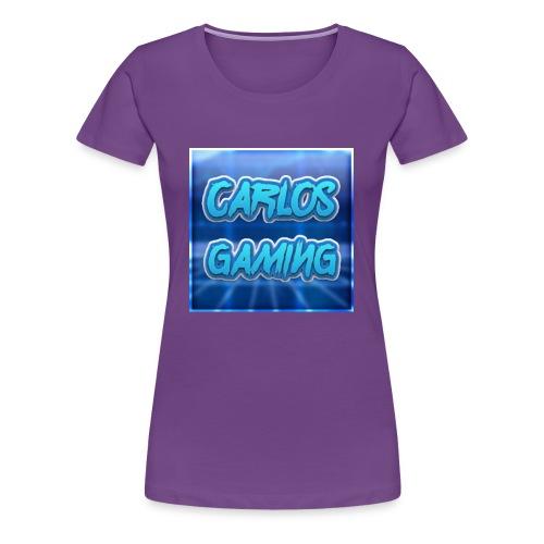 Carlos Gaming merchandise - Women's Premium T-Shirt