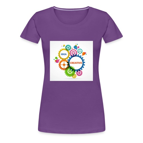 Think Outside the box - Women's Premium T-Shirt